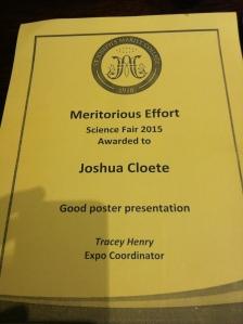 Joshua Award
